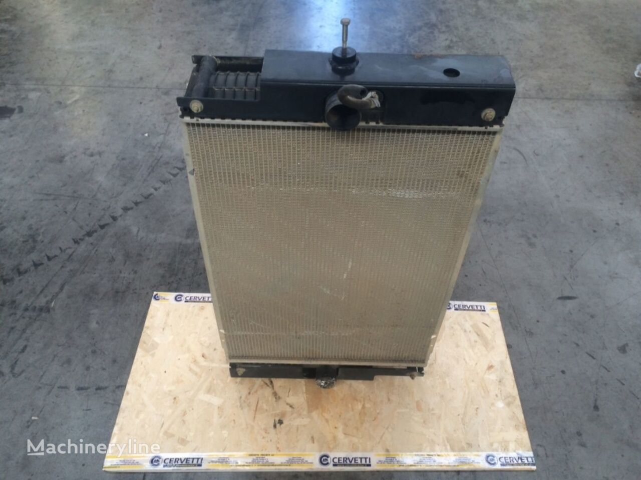 CORE AS RADIATORN 4A00198 engine cooling radiator for CATERPILLAR  962H  wheel loader