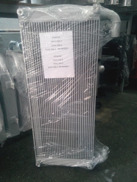 new Hitachi Maslyanyy engine cooling radiator for HITACHI ZX330, ZX350, ZX400 excavator
