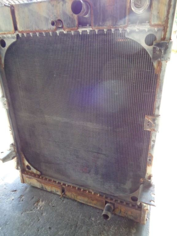HYUNDAI engine cooling radiator for excavator