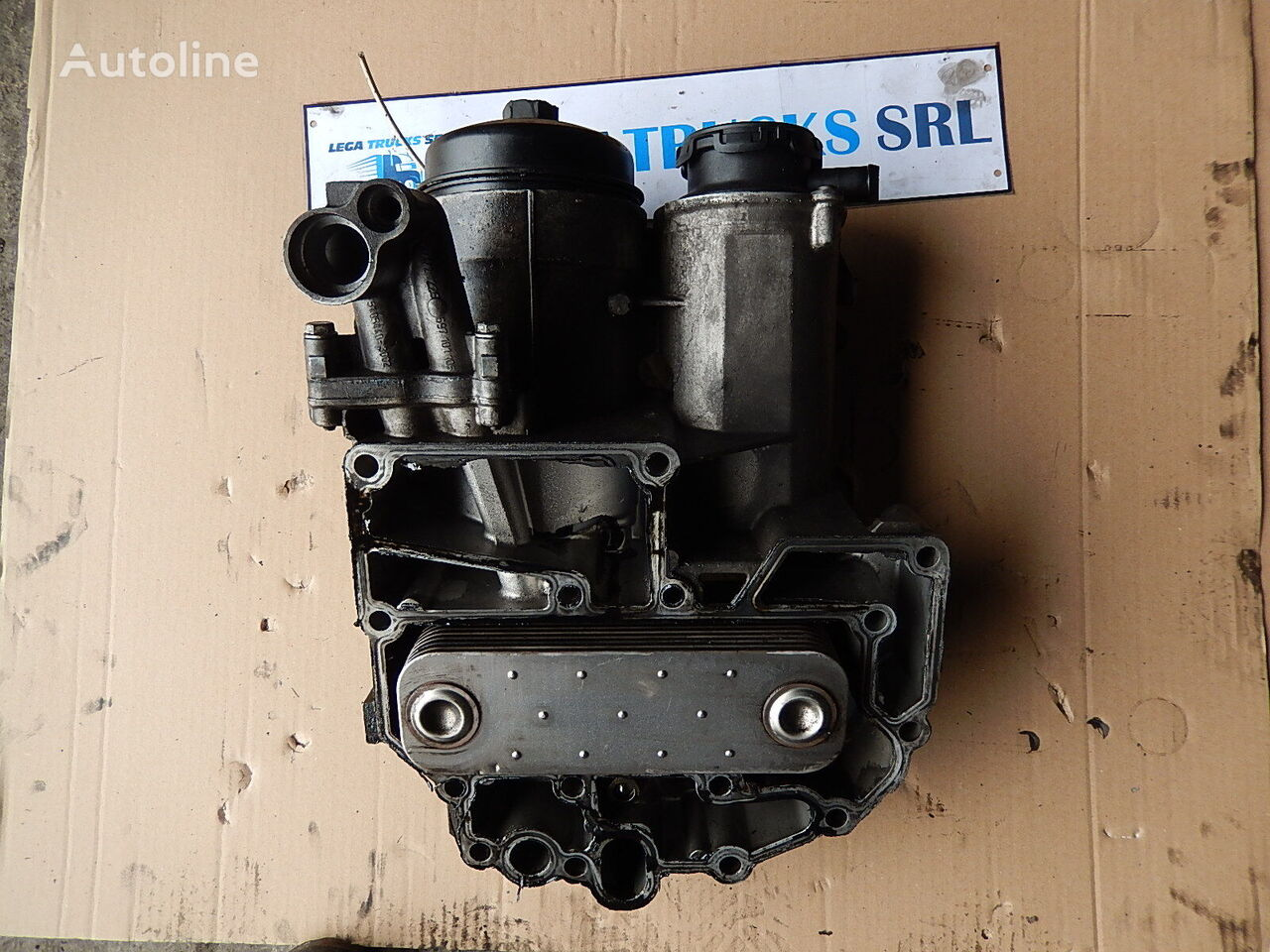 MAN Carcasa termoflot cu radiator racitor ulei Tga Tgx D20 D26 engine cooling radiator for MAN TGA TGX D20/D26 51.05005-3001 51.05000-7040 tractor unit