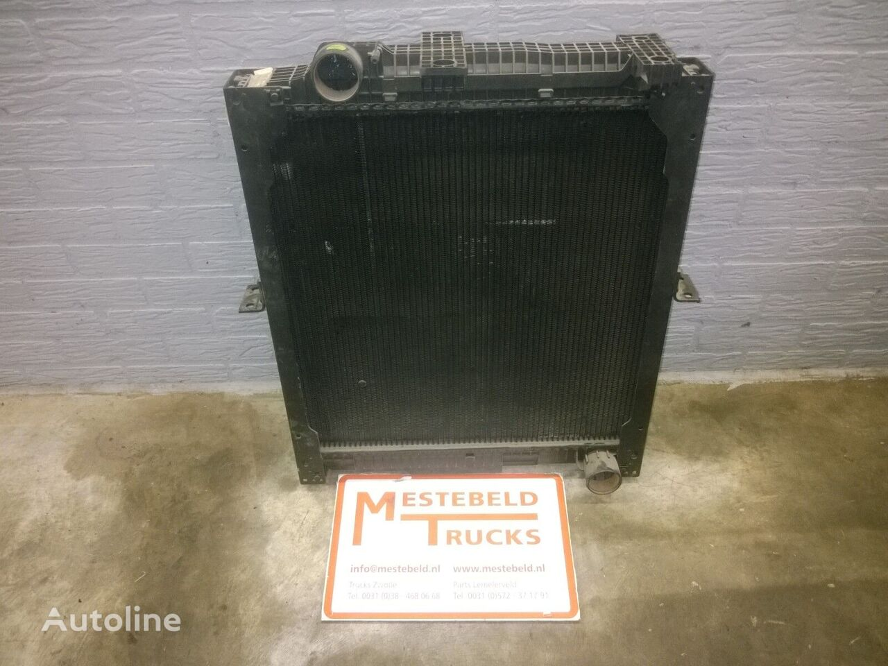 MERCEDES-BENZ engine cooling radiator for MERCEDES-BENZ truck