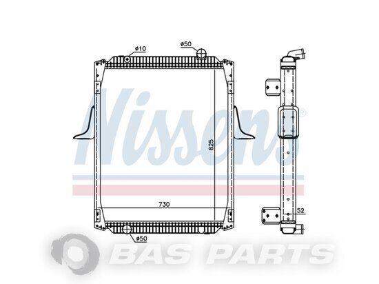 NISSENS radiator (5001847550) engine cooling radiator for truck
