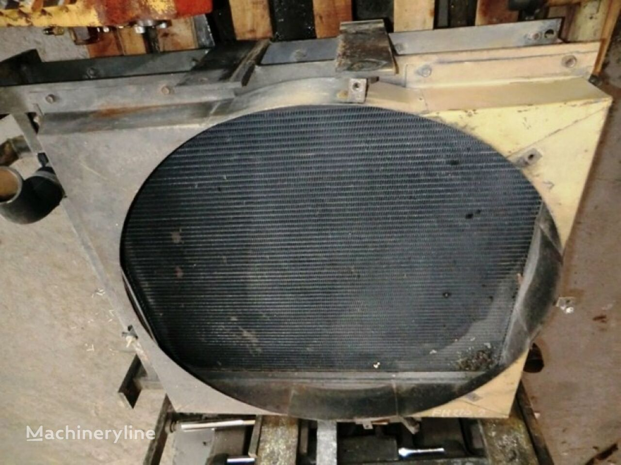 RADIATOR AS AND OIL COOLER engine cooling radiator for FIAT-HITACHI  FH220.2 22T0366K excavator