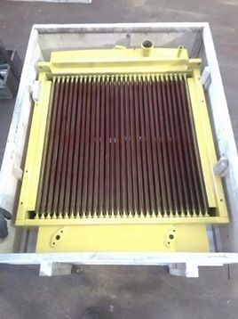 new SHANTUI engine cooling radiator for SHANTUI SD16 bulldozer