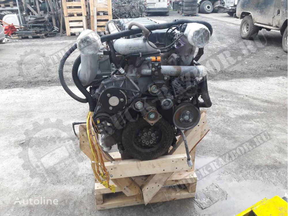 DVS engine for MAN tractor unit
