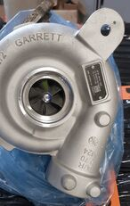 new MAN engine turbocharger for tractor unit