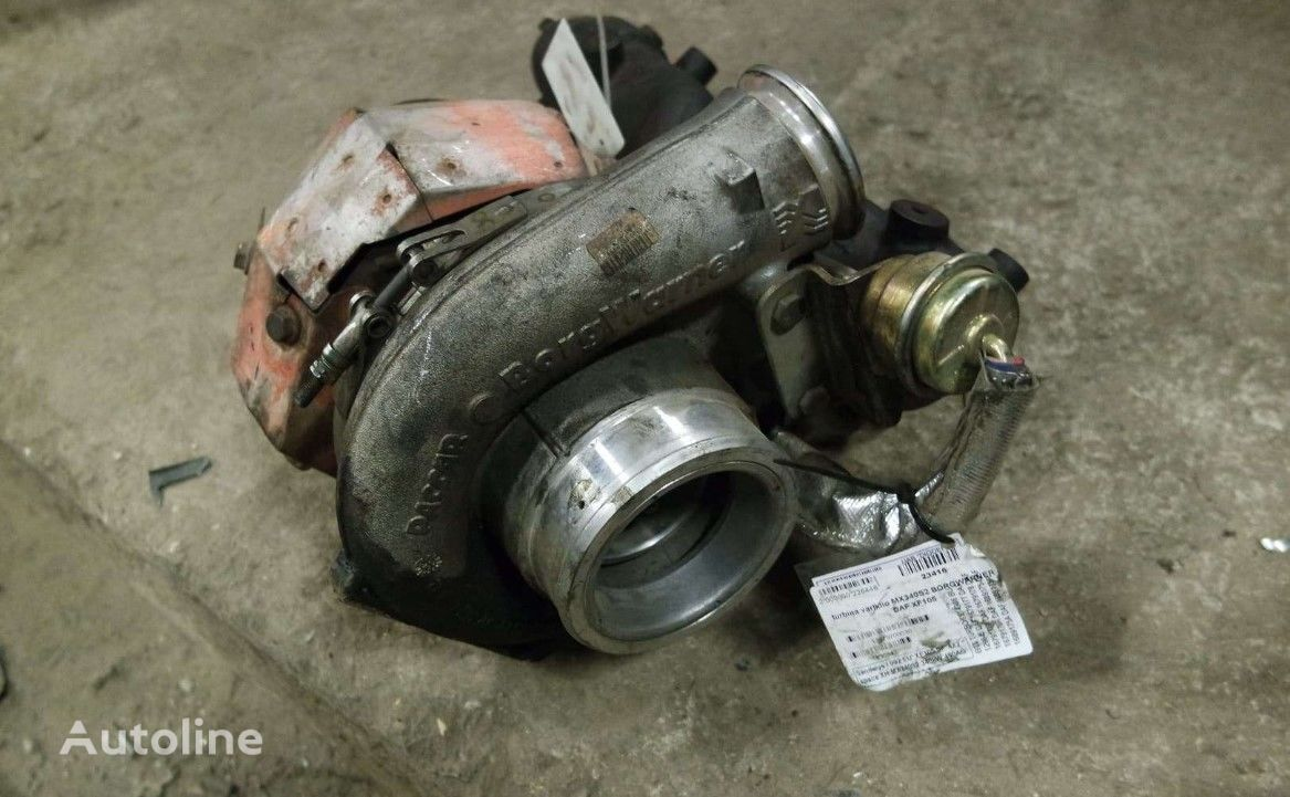 BORGWARNER MX340S2 engine turbocharger for DAF XF105 tractor unit