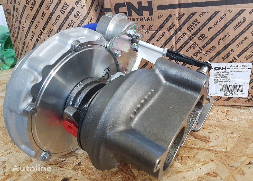 new IVECO engine turbocharger for IVECO tractor unit
