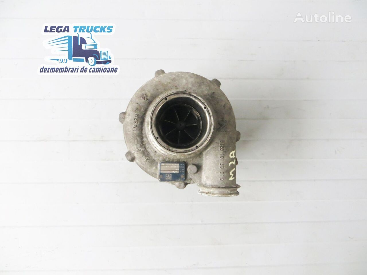 MAN engine turbocharger for tractor unit