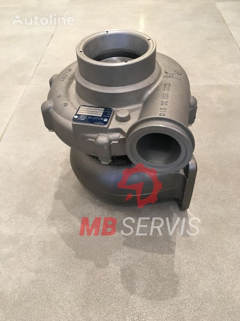 new engine turbocharger for MAN tractor unit