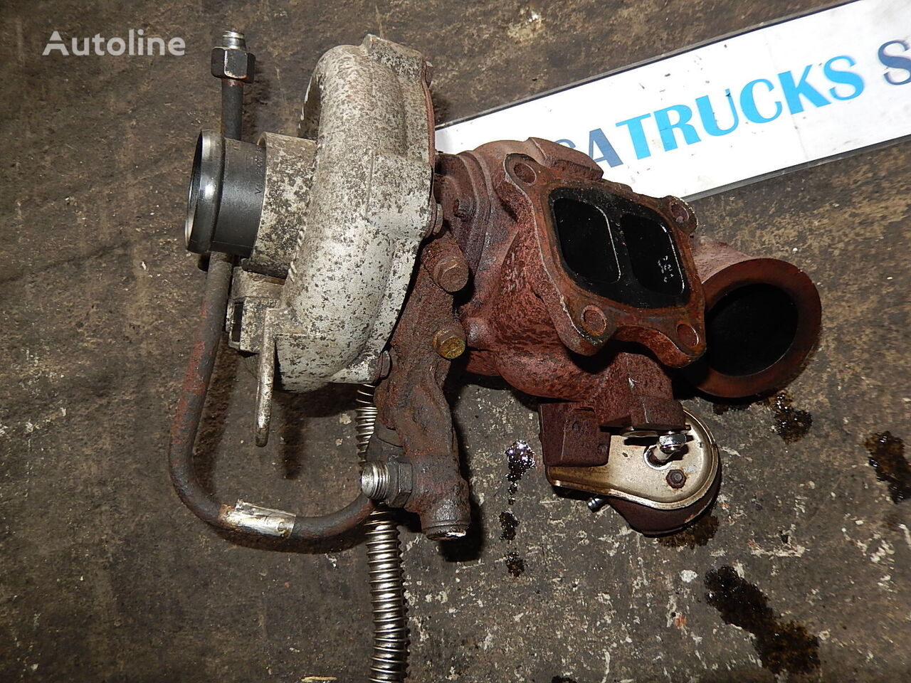 MAN engine turbocharger for MAN TGX tractor unit