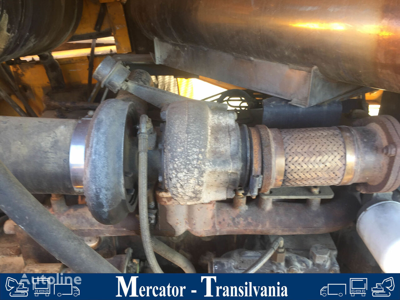 Turboluftgebläse engine turbocharger for JCB 456 wheel loader