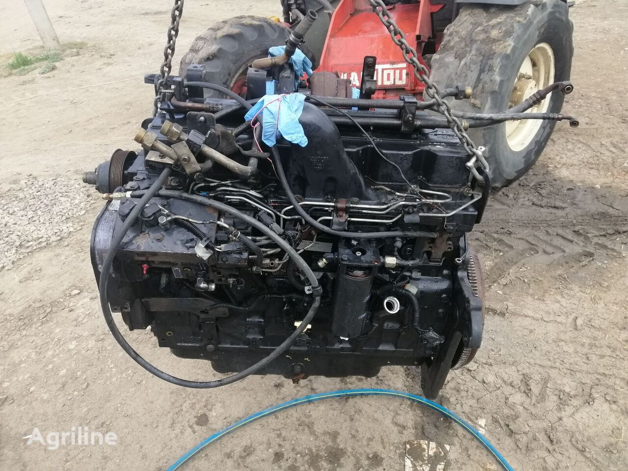 CASE IH MX 285 engine for CASE IH MX 285 tractor