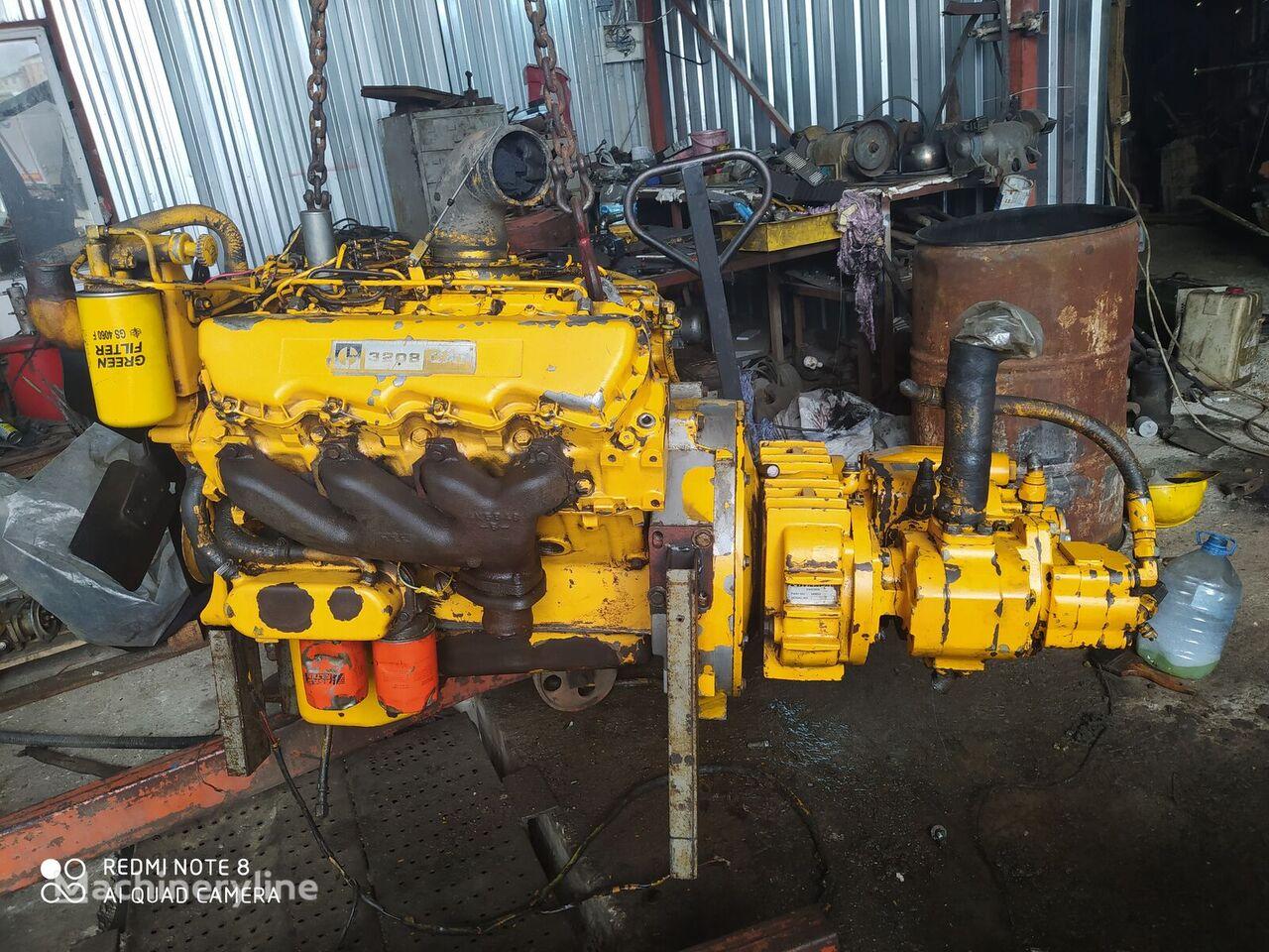 CATERPILLAR 3208 engine for construction roller