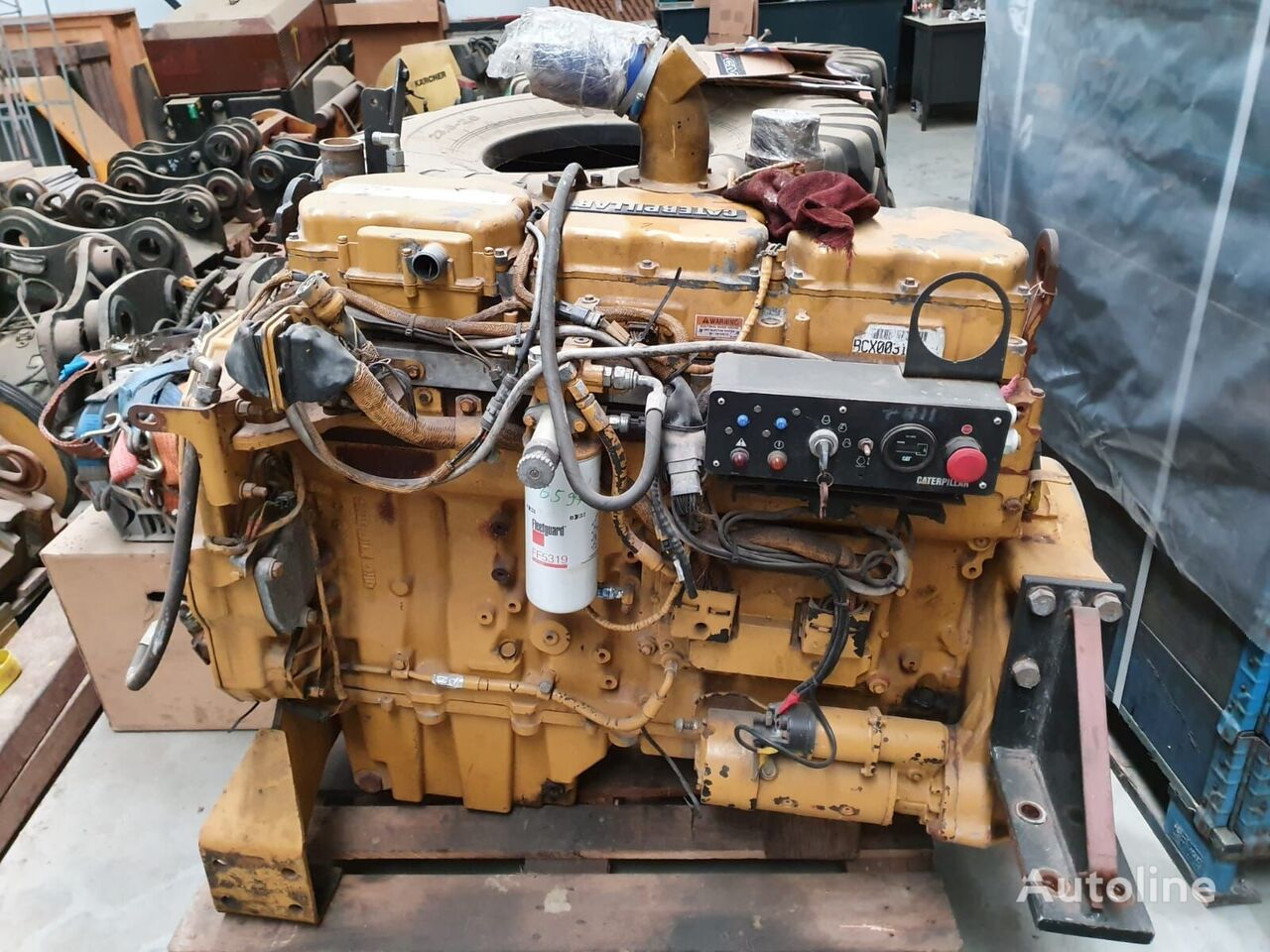CATERPILLAR C10 engine for other construction machinery