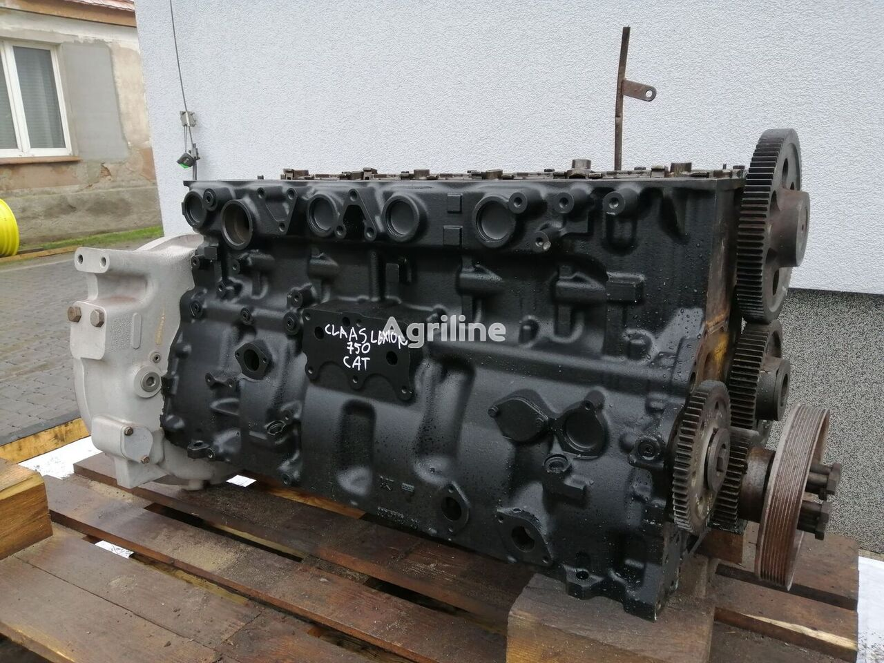CATERPILLAR C13 engine for CLAAS 750  grain harvester