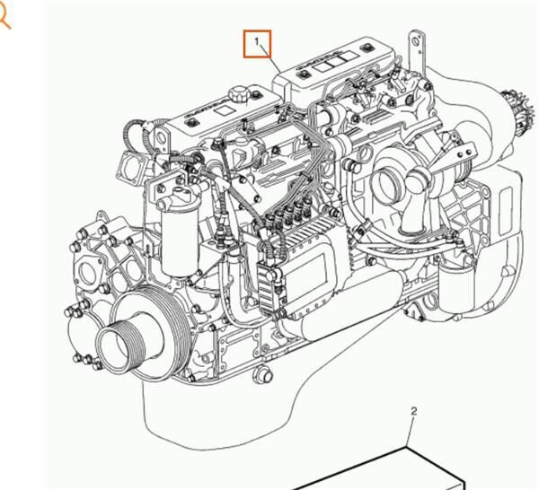 Completo engine for VOLVO FM 7 FM 7/290 truck