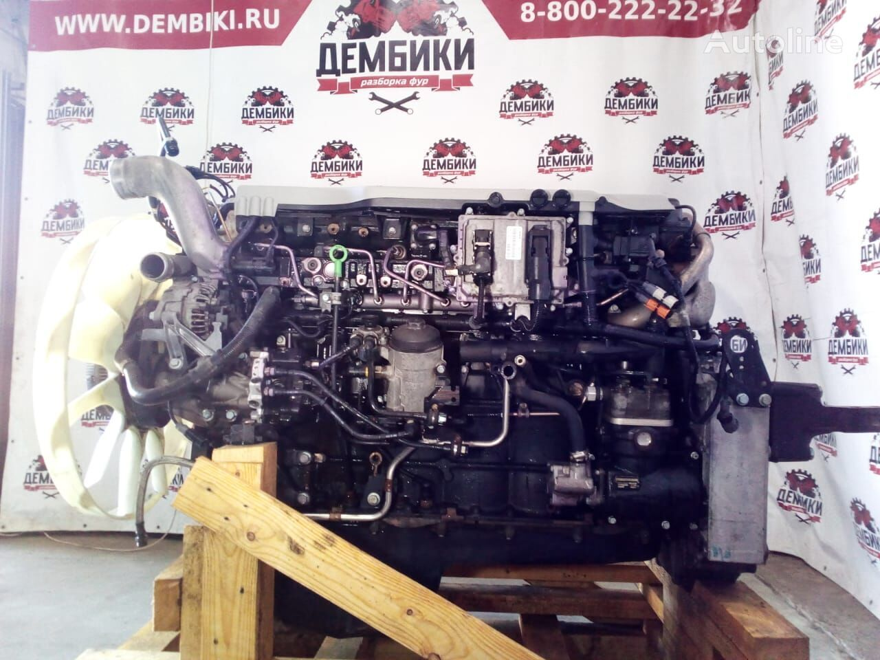 D2066LF70 400HP EURO4 engine for MAN TGS truck