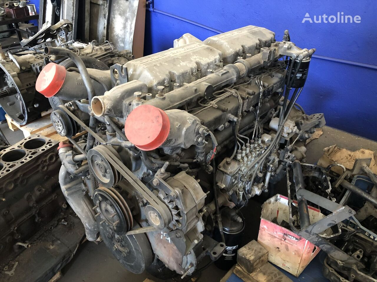 DAF 95XF EURO2 MANUAL engine for DAF 95XF  truck