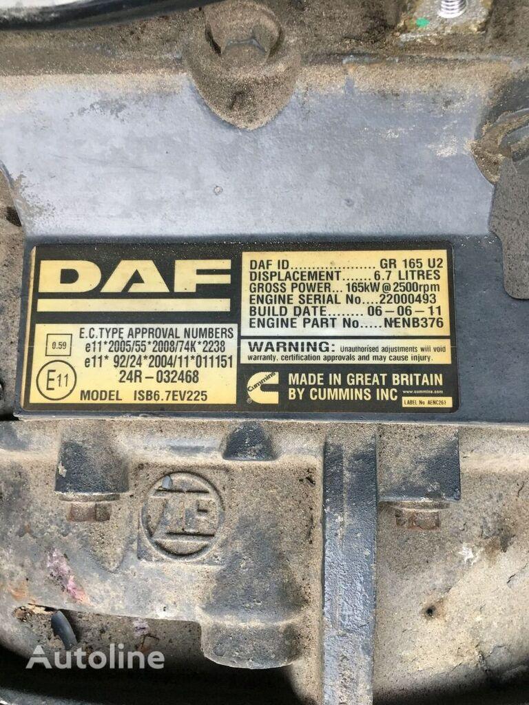DAF GR165 U2 engine for DAF Lf45  truck