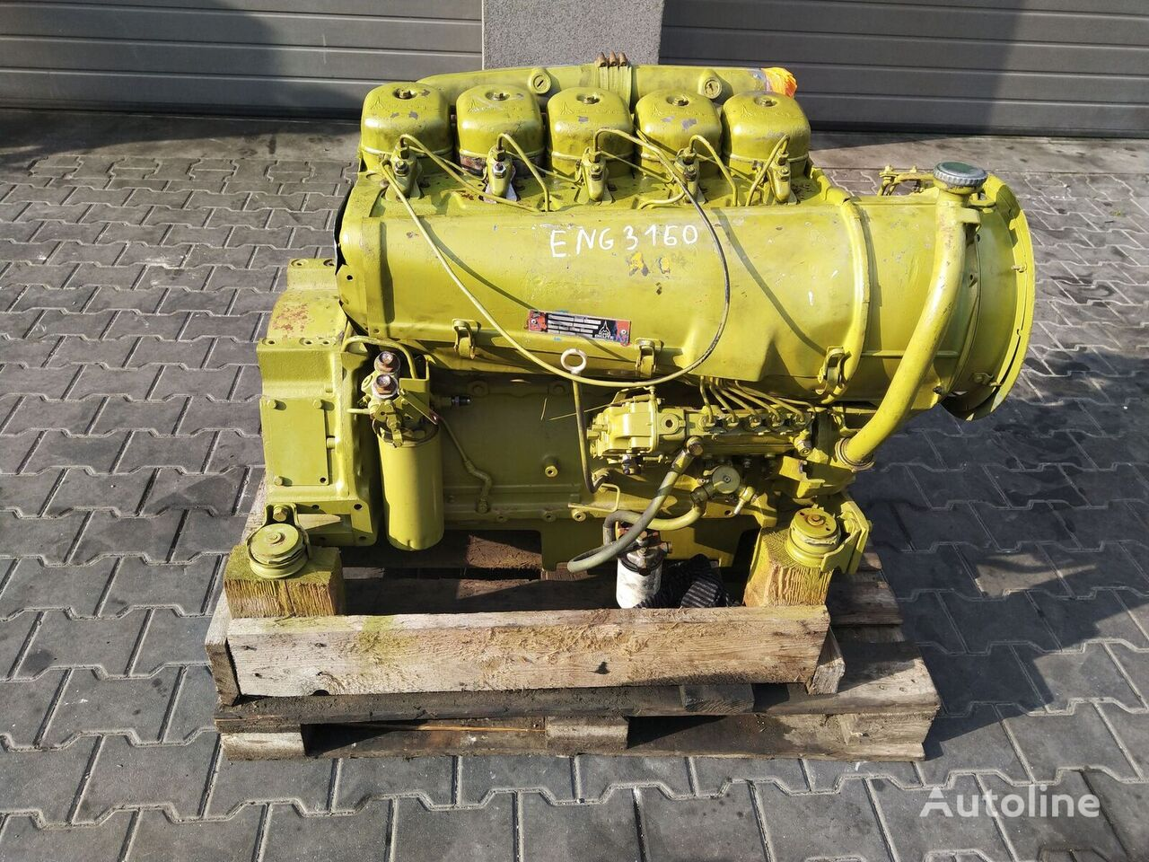 DEUTZ 5 cylindrowy Engine Motor engine for DEUTZ wheel loader