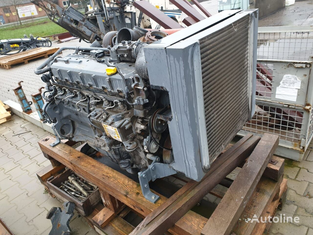 DEUTZ BF 6M 1013 CP (5DZXL07.1034) engine for asphalt milling machine