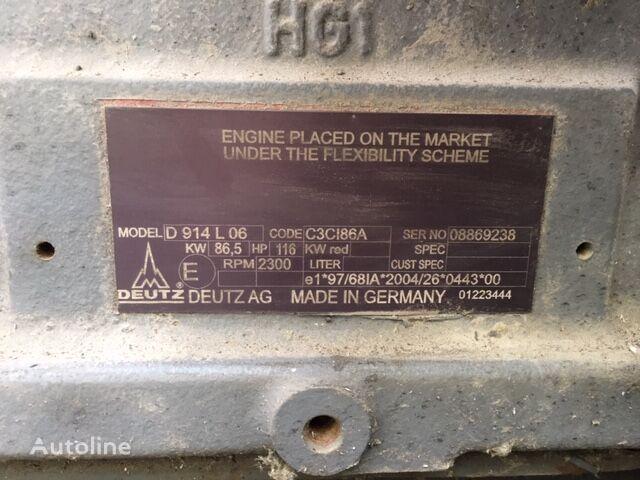 DEUTZ D 914 L 06 (C3CI86A) engine for truck