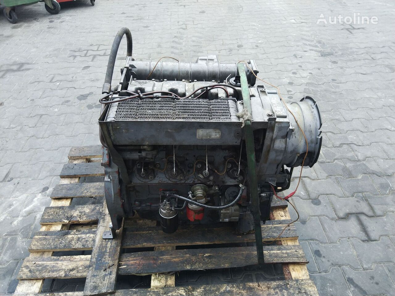 DEUTZ F4L1011F engine for wheel loader