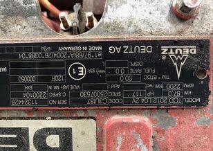 DEUTZ-FAHR TCD 2012 L04 2V engine for DEUTZ-FAHR grain harvester