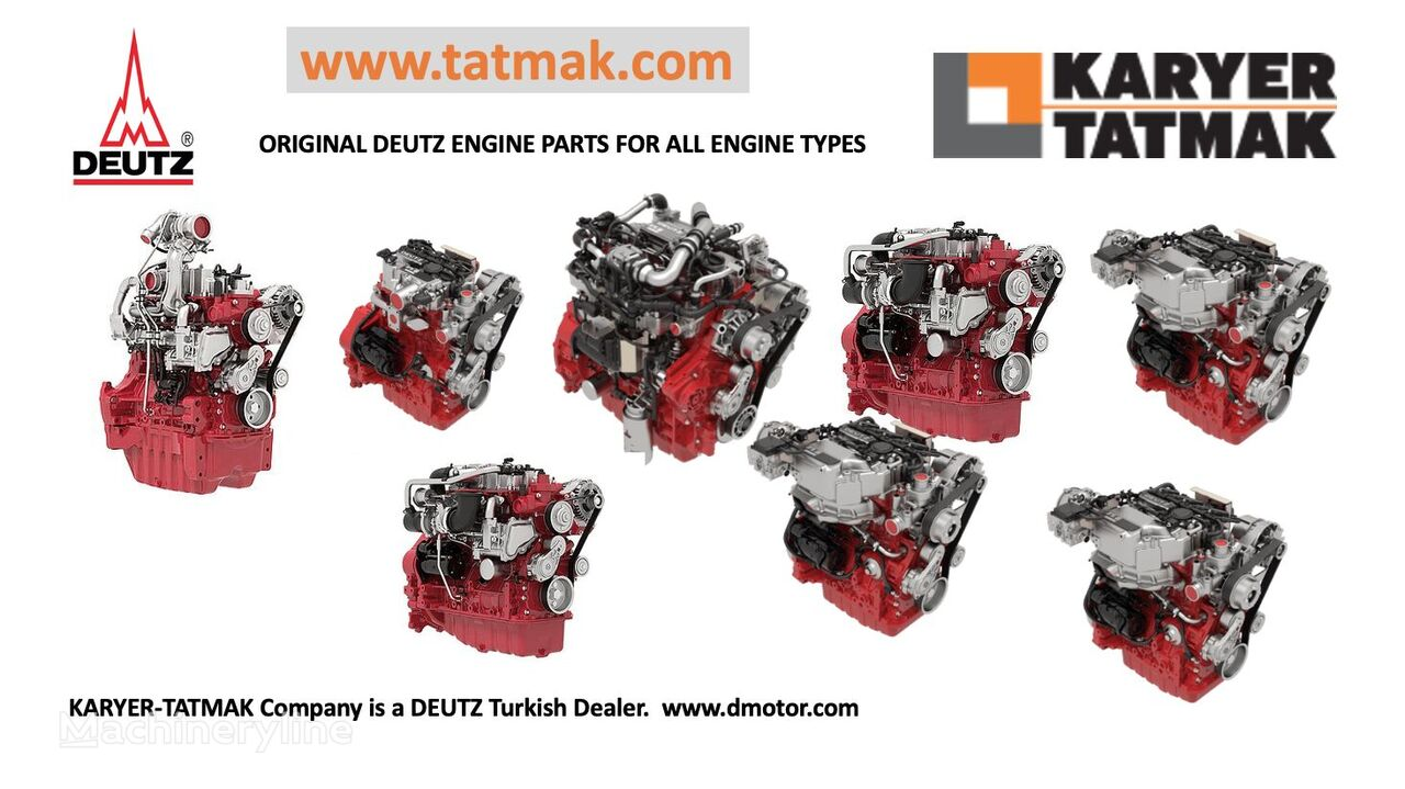 new DEUTZ TCD 2.2 TCD 2.9 TCD 3.6 TCD 4.1 engine for construction roller