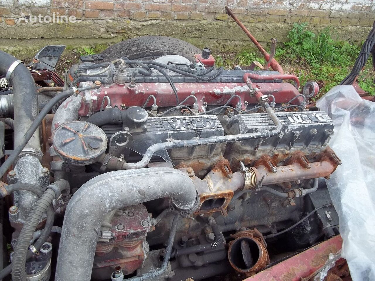 FIAT 8460.41L 375 l.s., 1998 g.v. engine for IVECO Eurotech tractor unit