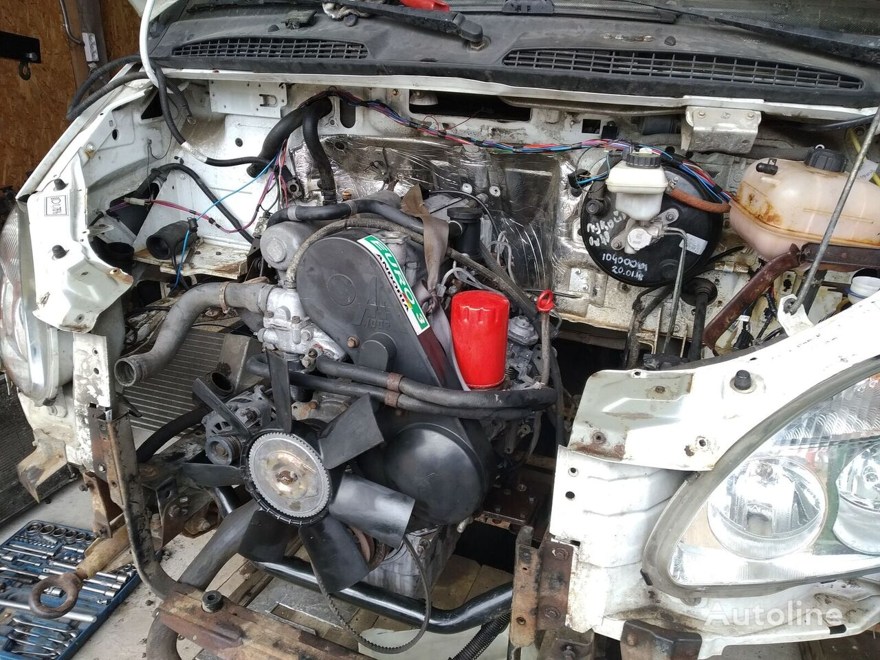 GAZ engine for GAZ Gazel truck