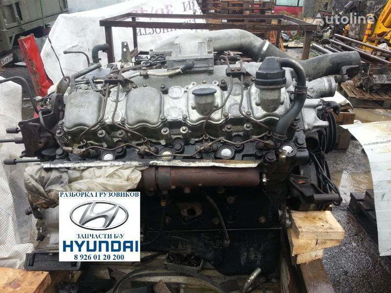 Mitsubishi D8AB D8AX D8AY engine for HYUNDAI HD Gold AERO truck