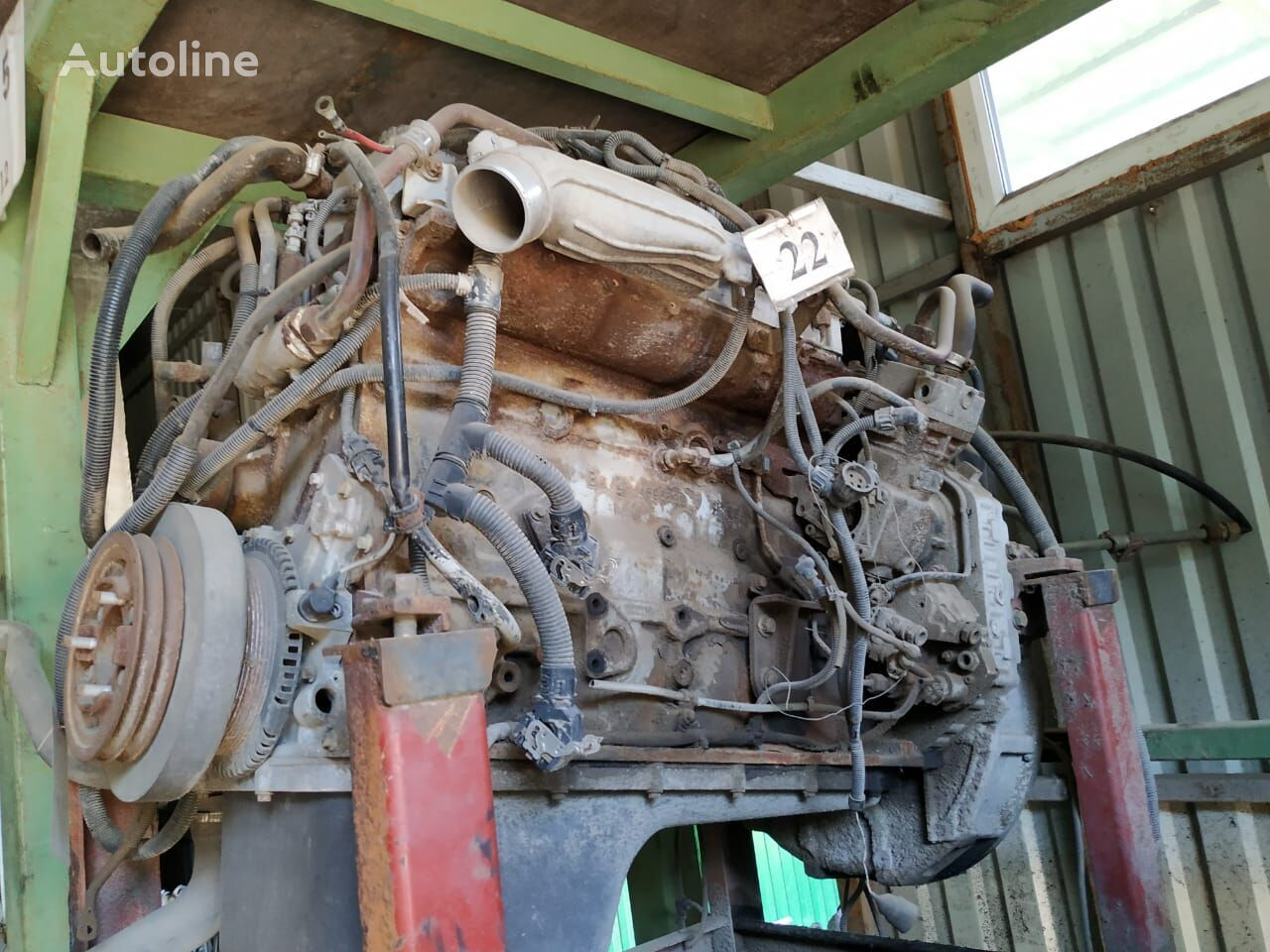IVECO engine for truck