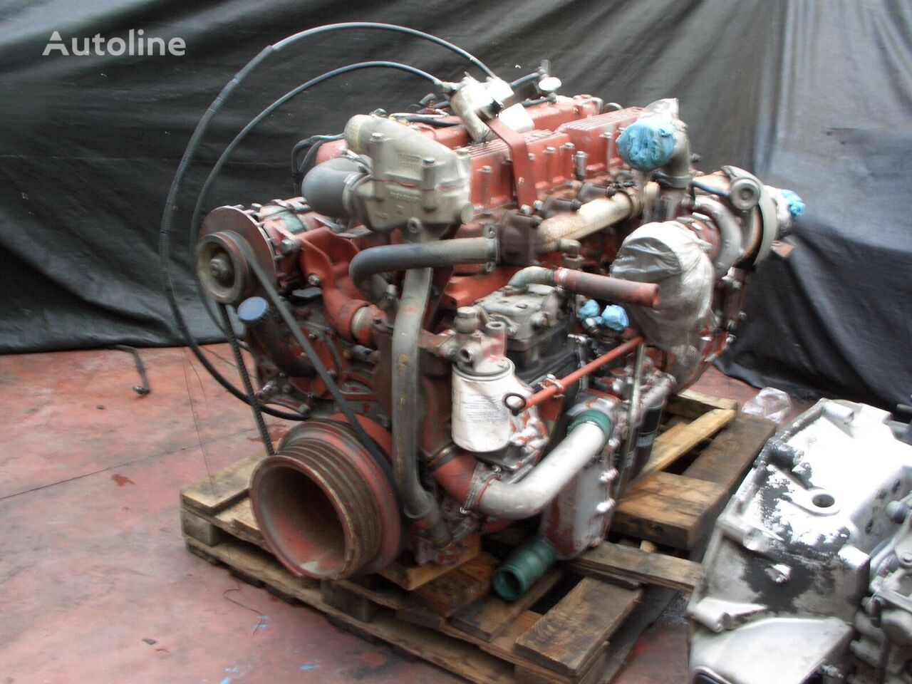 IVECO 8460.41S engine for bus