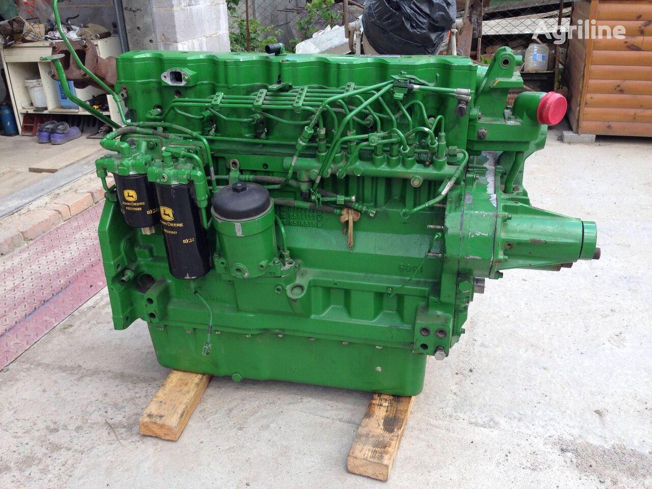 new JOHN DEERE engine for JOHN DEERE tractor