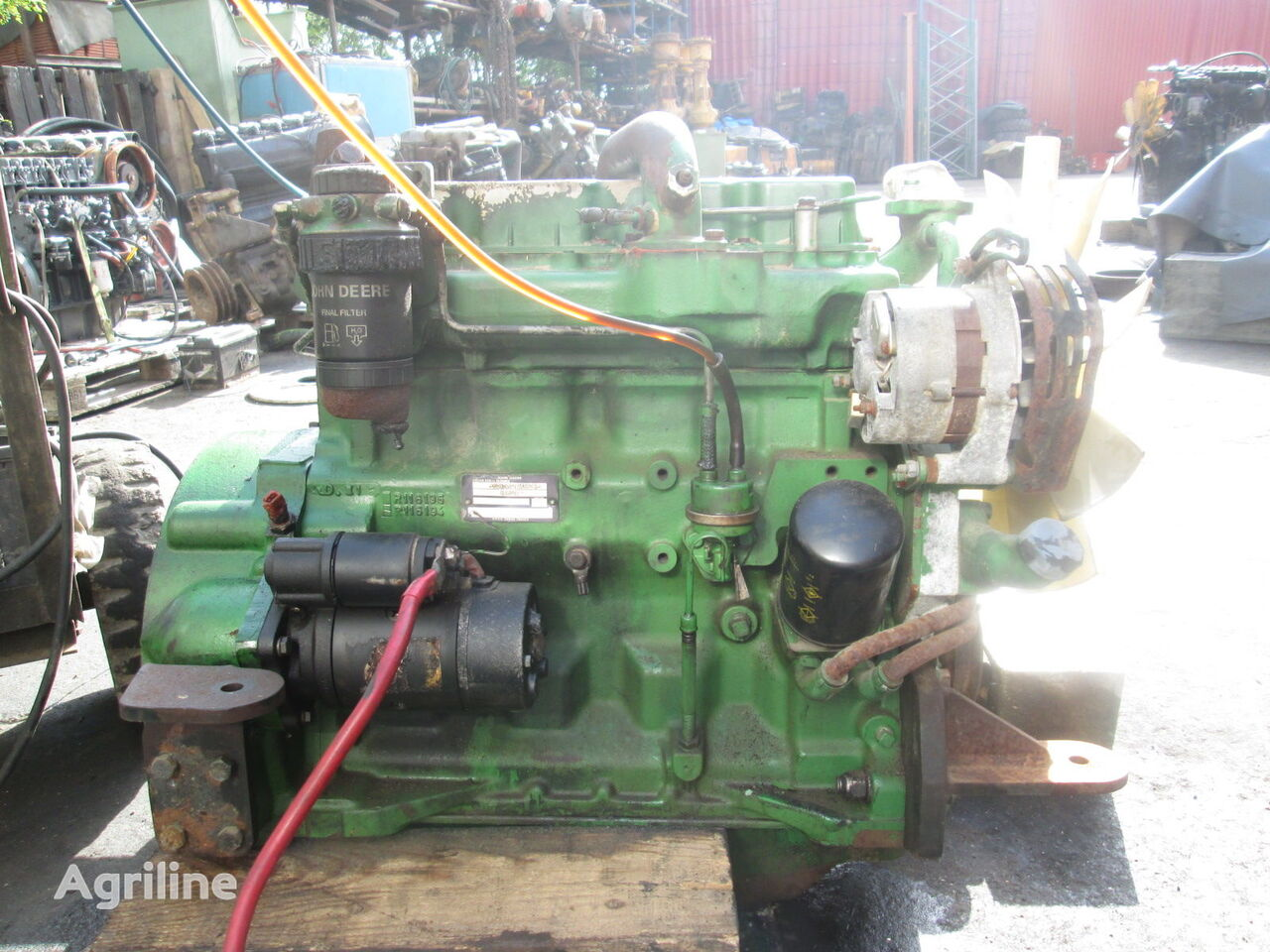JOHN DEERE 4039TF CD4039T27654 engine for tractor