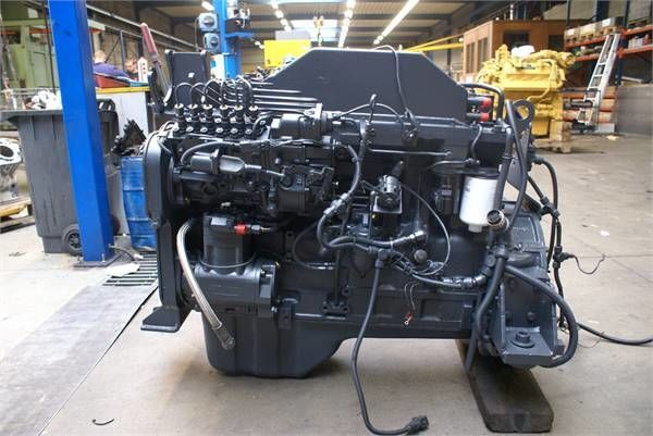 engine for KOMATSU S6D114 E1 wheel loader