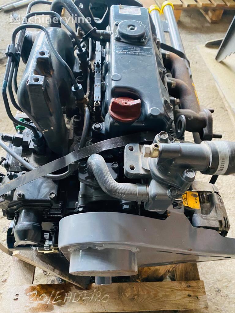 KUBOTA engine for construction roller