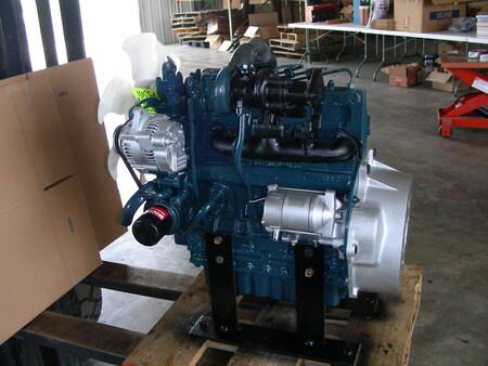 KUBOTA D engine for generator