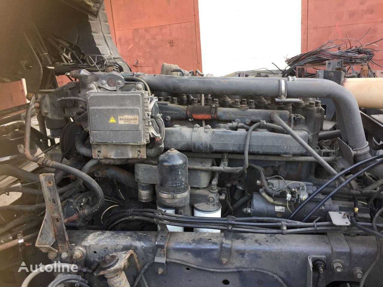 MACK engine for tractor unit