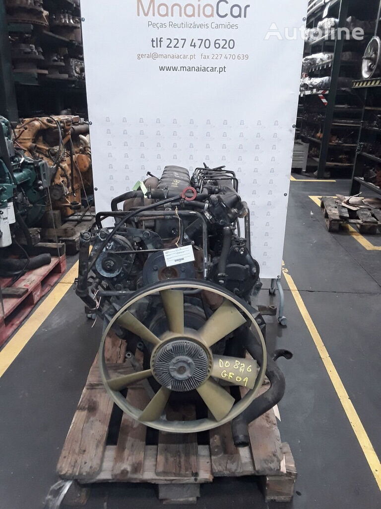 MAN D0826 GF01 engine for truck