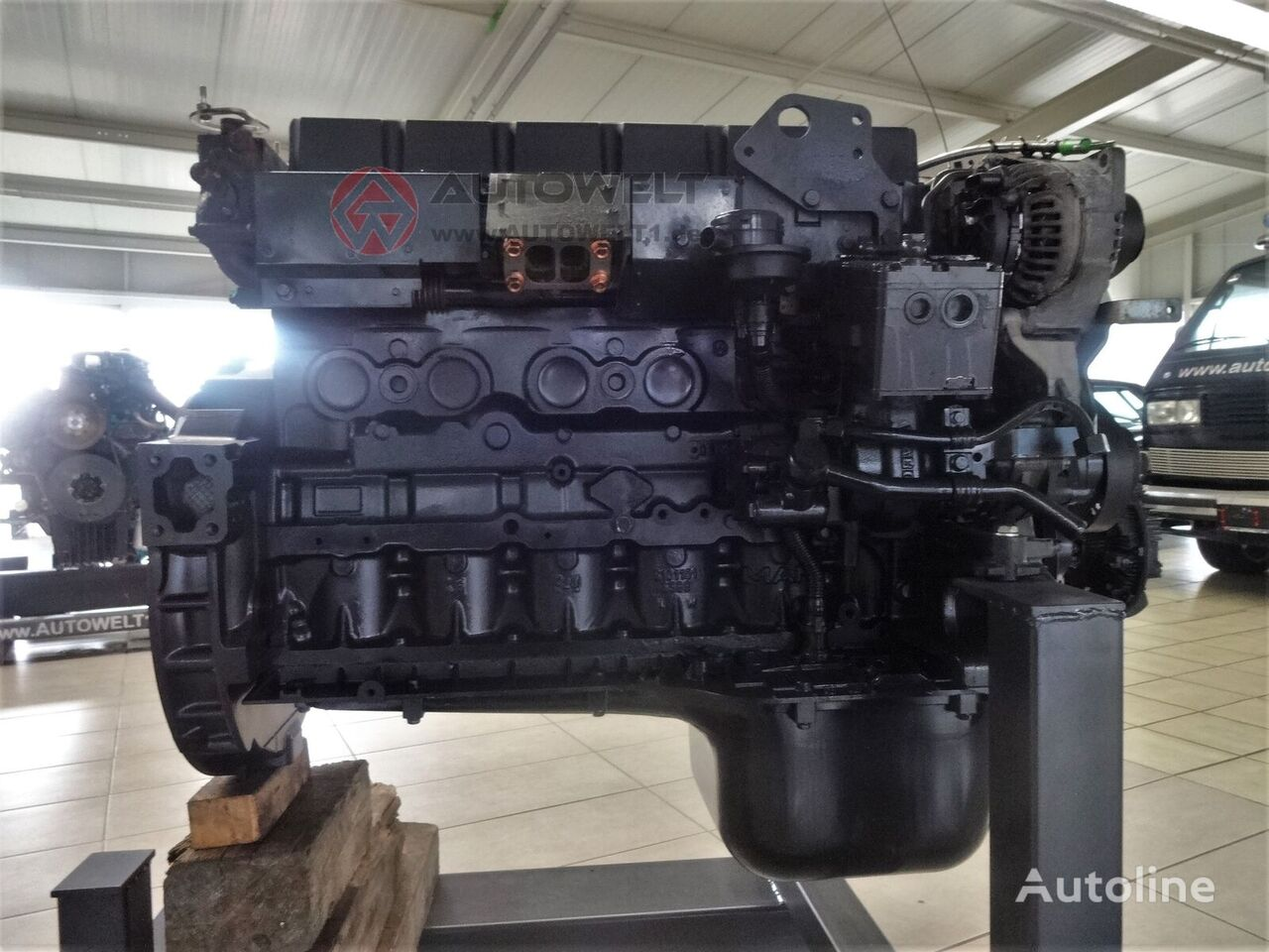 MAN D0836 LFL engine for truck