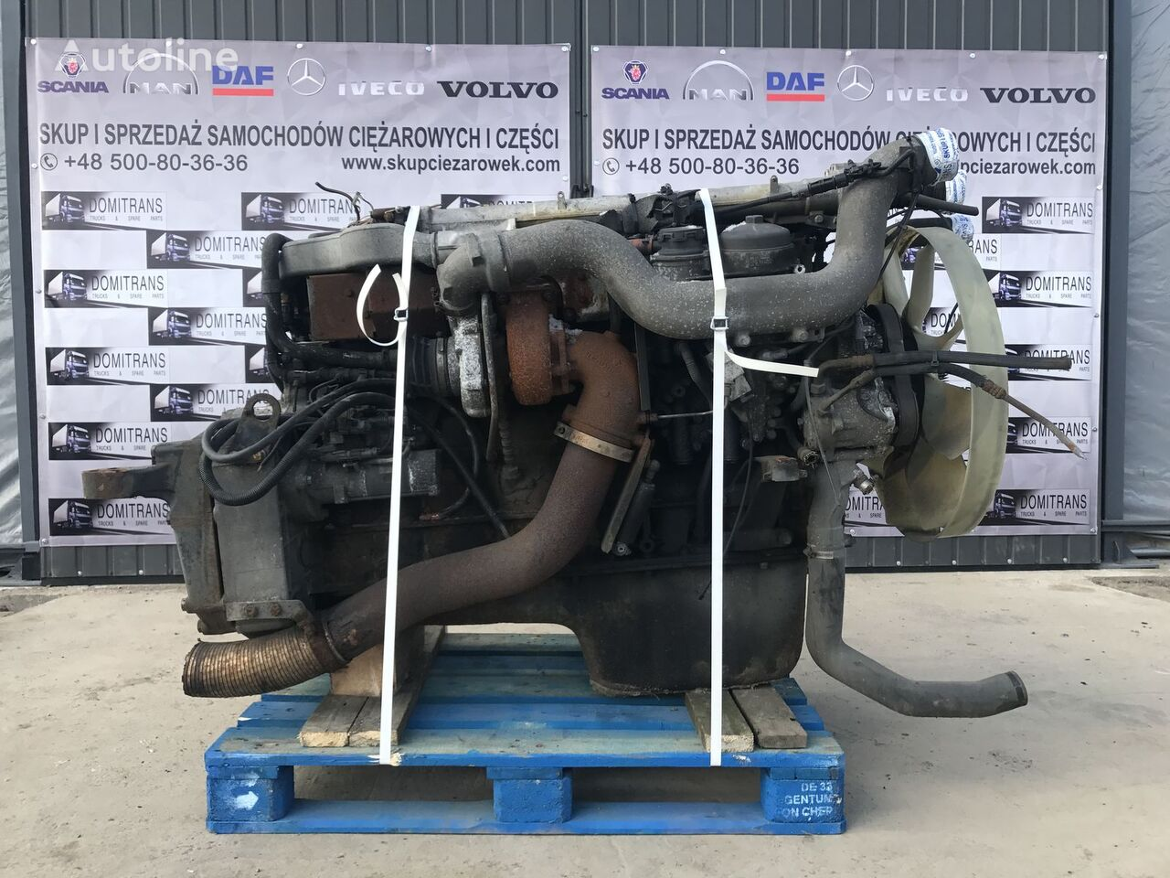 MAN D2066 LF31 engine for tractor unit