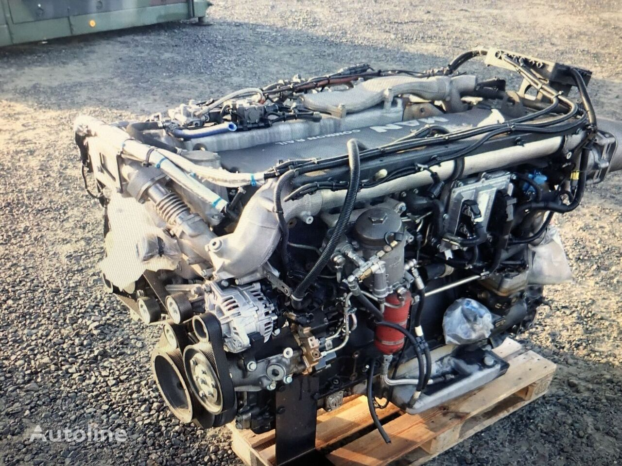 MAN D2066 LOH26 engine for bus