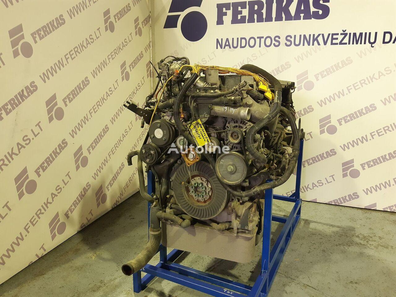 MAN D2066LF61 EURO 6 engine engine for MAN TGX  tractor unit