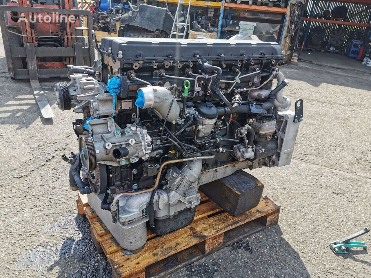 MAN D2676LF46 engine for truck