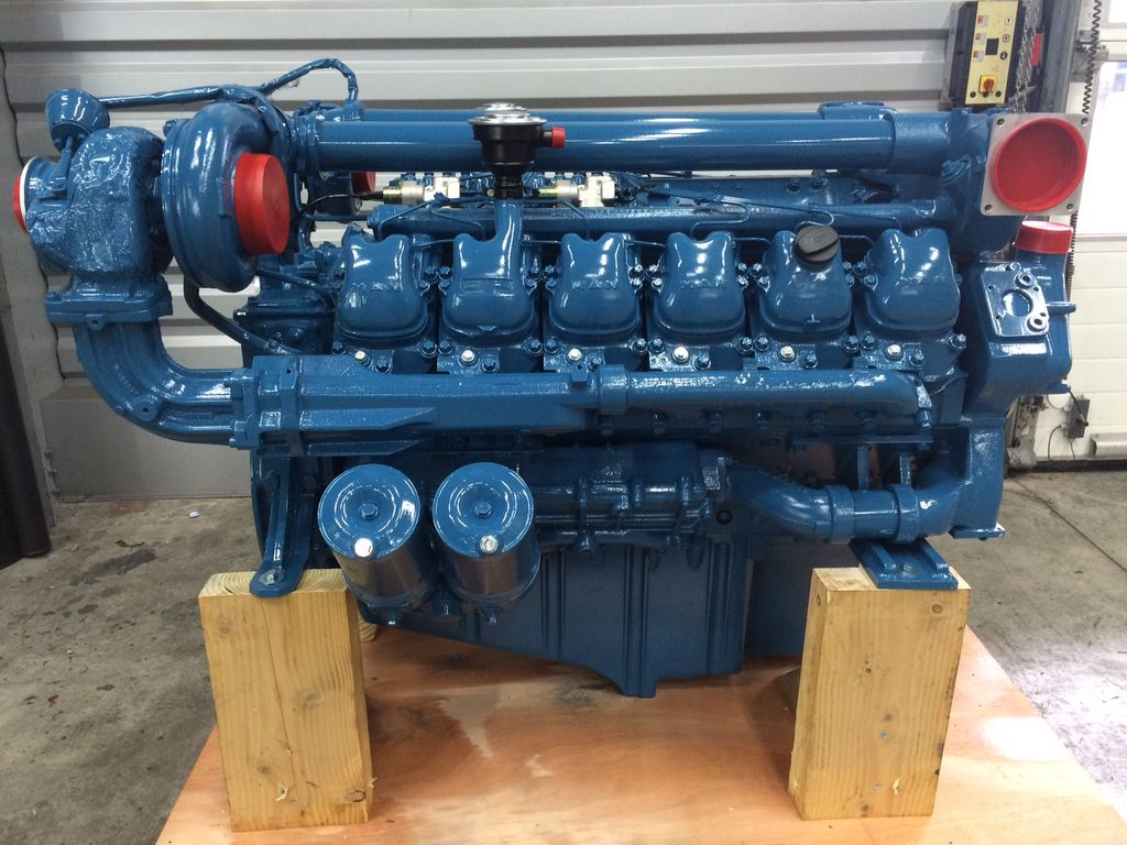 new MAN D2842LE103 engine for gantry crane