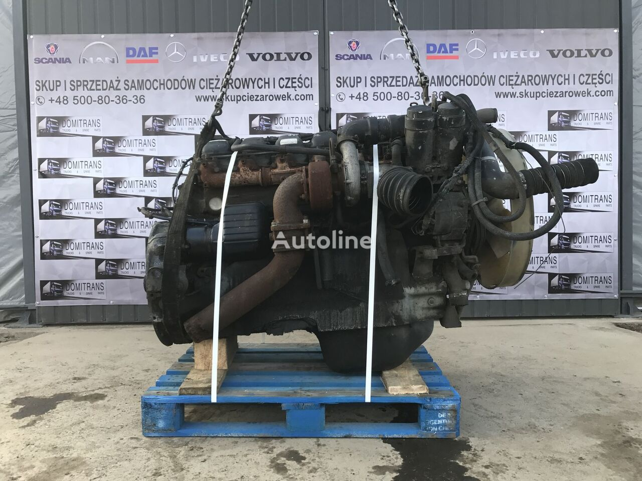 MAN D2866 19-402 LF16 engine for MAN tractor unit