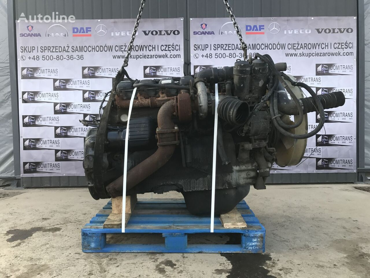 D2866 LF20 19-403 engine for MAN tractor unit
